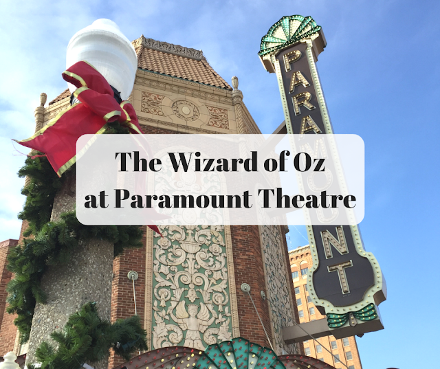 Following the Yellow Brick Road to the Paramount Theatre for The Wizard of Oz