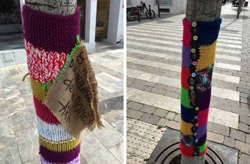 mallorca, travel, road trip, spain, undersized closet, undersizedcloset, yarn bombing