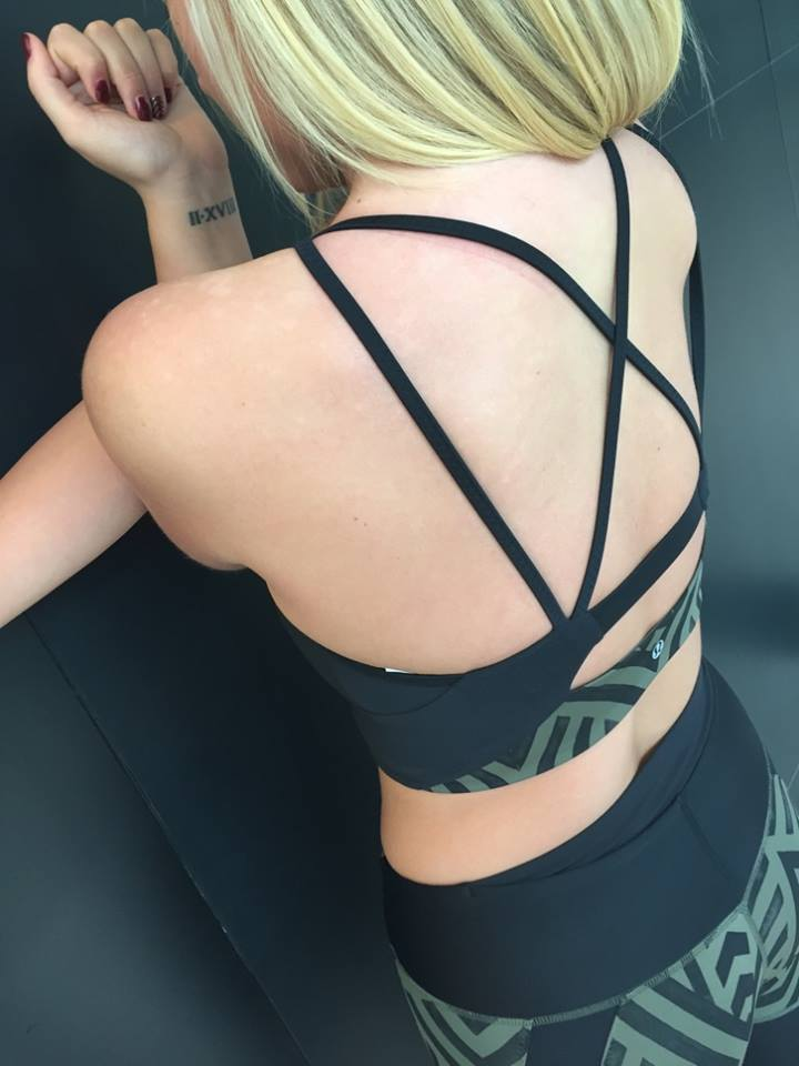 lululemon clip in bra