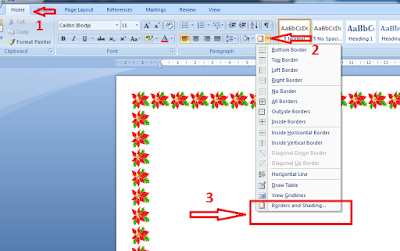 Membuat Bingkai Di Microsoft Office Word Cara Membuat Bingkai Cover Pada Microsoft Office Word