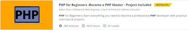 PHP for Beginners -Become a PHP Master - Project Included