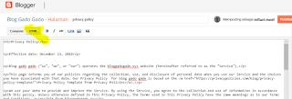 Cara membuat Privacy Policy Blog dengan Privacy Policy Generator