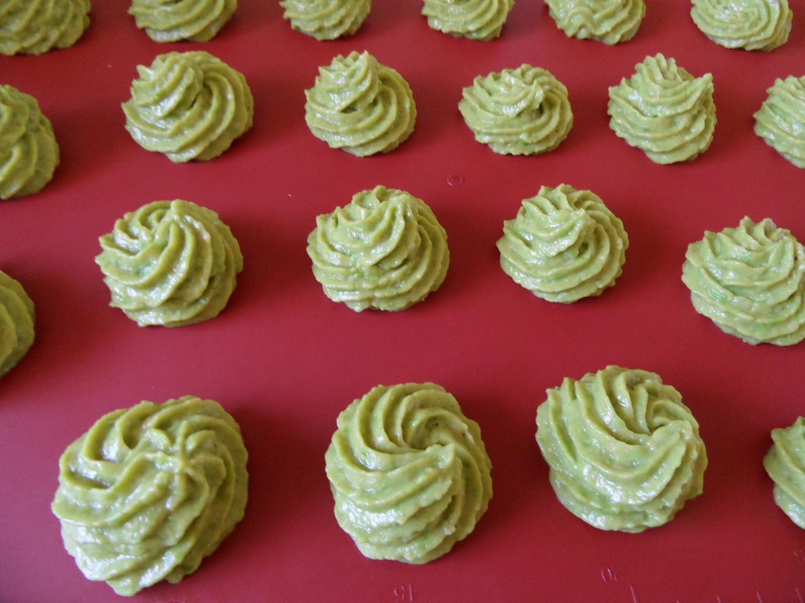 Pommes duchesses au brocoli