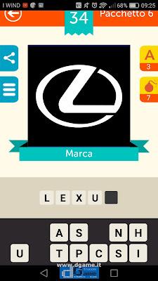 Iconica Italia Pop Logo Quiz soluzione pacchetto 6 livelli 34-100