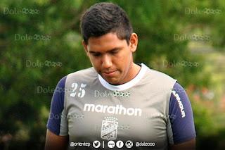 Oriente Petrolero - Gustavo Olguín no pudo ser habilitado para jugar el Torneo Clausura 2017 - DaleOoo