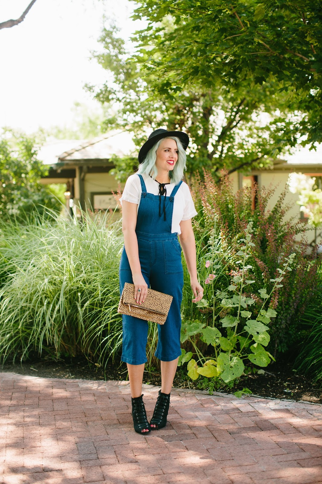 Paige Avenue, Utah Fashion Blogger, Overall Culottes