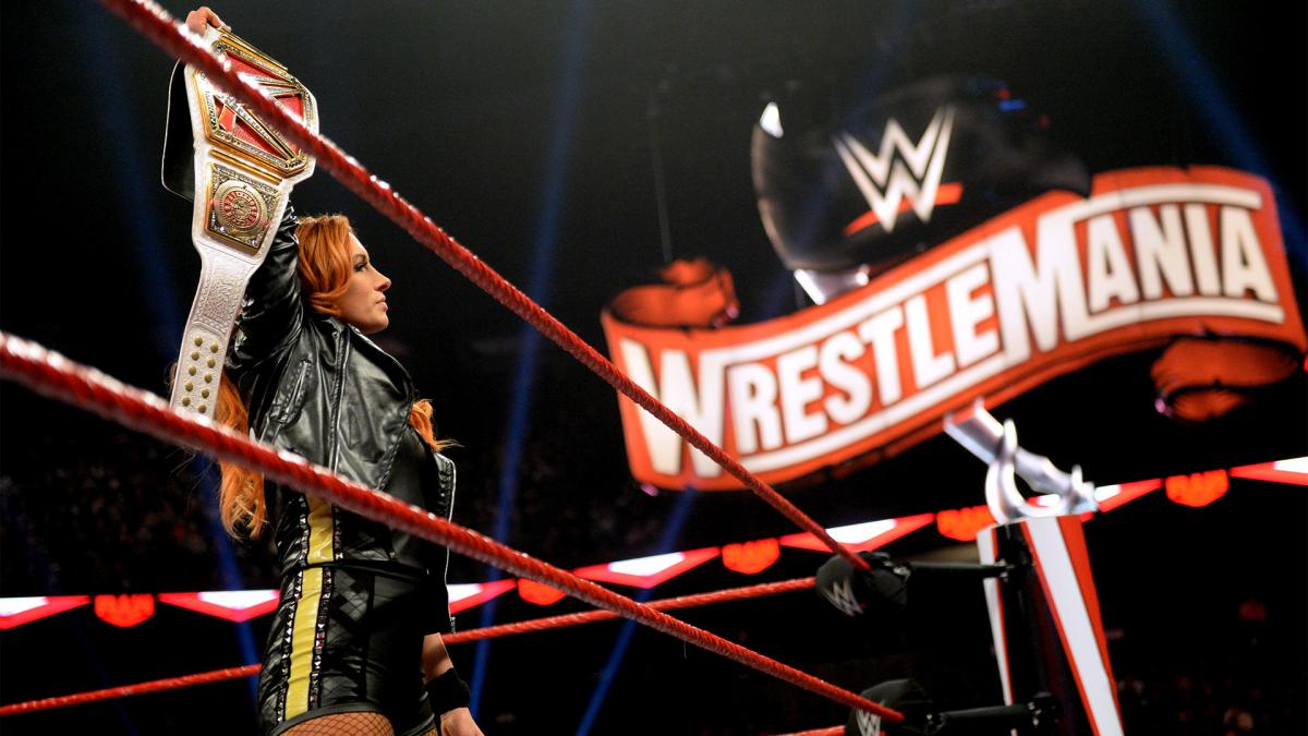 WWE sofreu com ordem dos shows gravados antes da WrestleMania 36