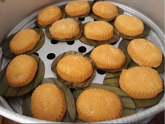 Resep Cara Membuat Kue Ku Isi Kacang Hijau