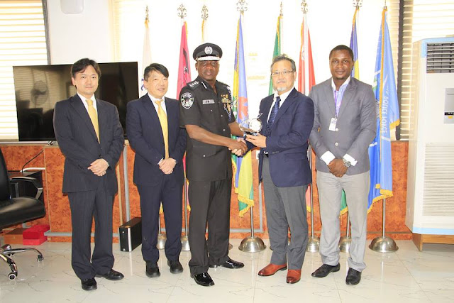 Courtesy visit to the IGP by NEC.