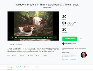 https://www.kickstarter.com/projects/ralphhorsley/wildborn-dragons-in-their-natural-habitat-the-art/description