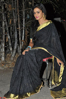 Sowjanya in Black Saree ~  054.JPG