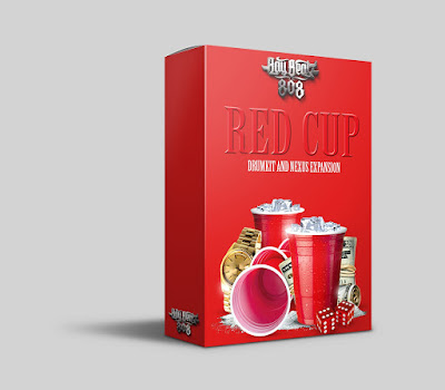 Red Cup Drum Kit with Nexus Expansion FREE