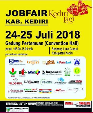 Jadwal JobFair Kediri Juli 2018