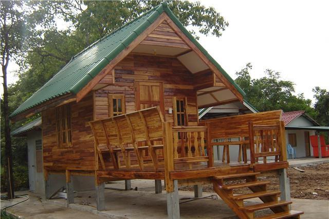 Small Bamboo House House Affair