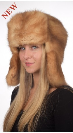 real fur hats