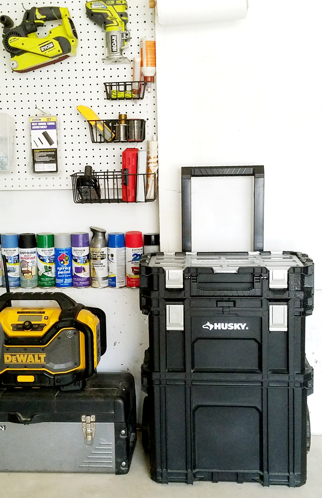 garage organization - How to keep the tools organized