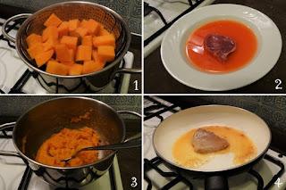 foto preparazione ricetta agrodolce per bambini