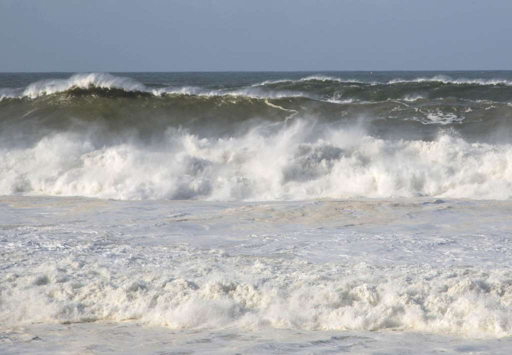 The Big Wobble: Record breaking waves and rainfall pound