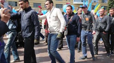 """Ватажка """"тітушок"""" із Дніпра заарештовано"""