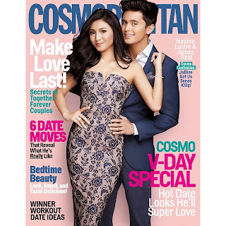 James Reid and Nadine Lustre Cosmo