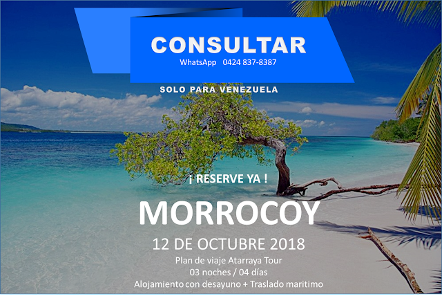 Morrocoy punte del 12 de octubre