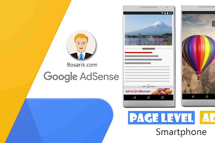 Cara Memasang iklan Page Level Ads Khusus Tampilan Smartphone