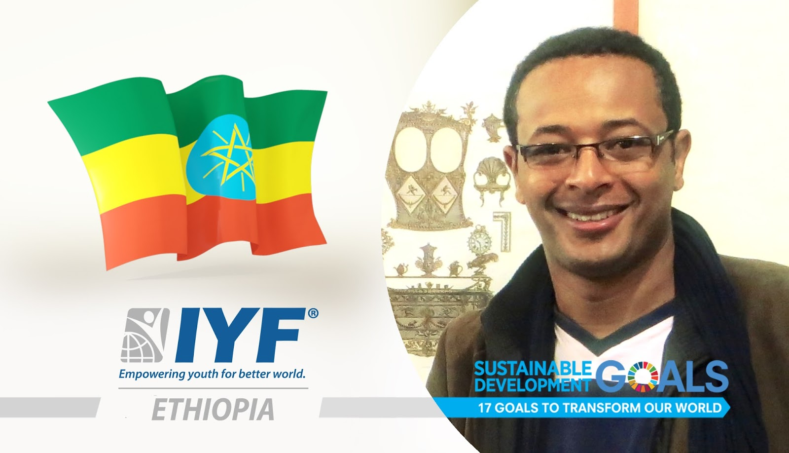 Kidus Mehalu, IYF Representative in Ethiopia