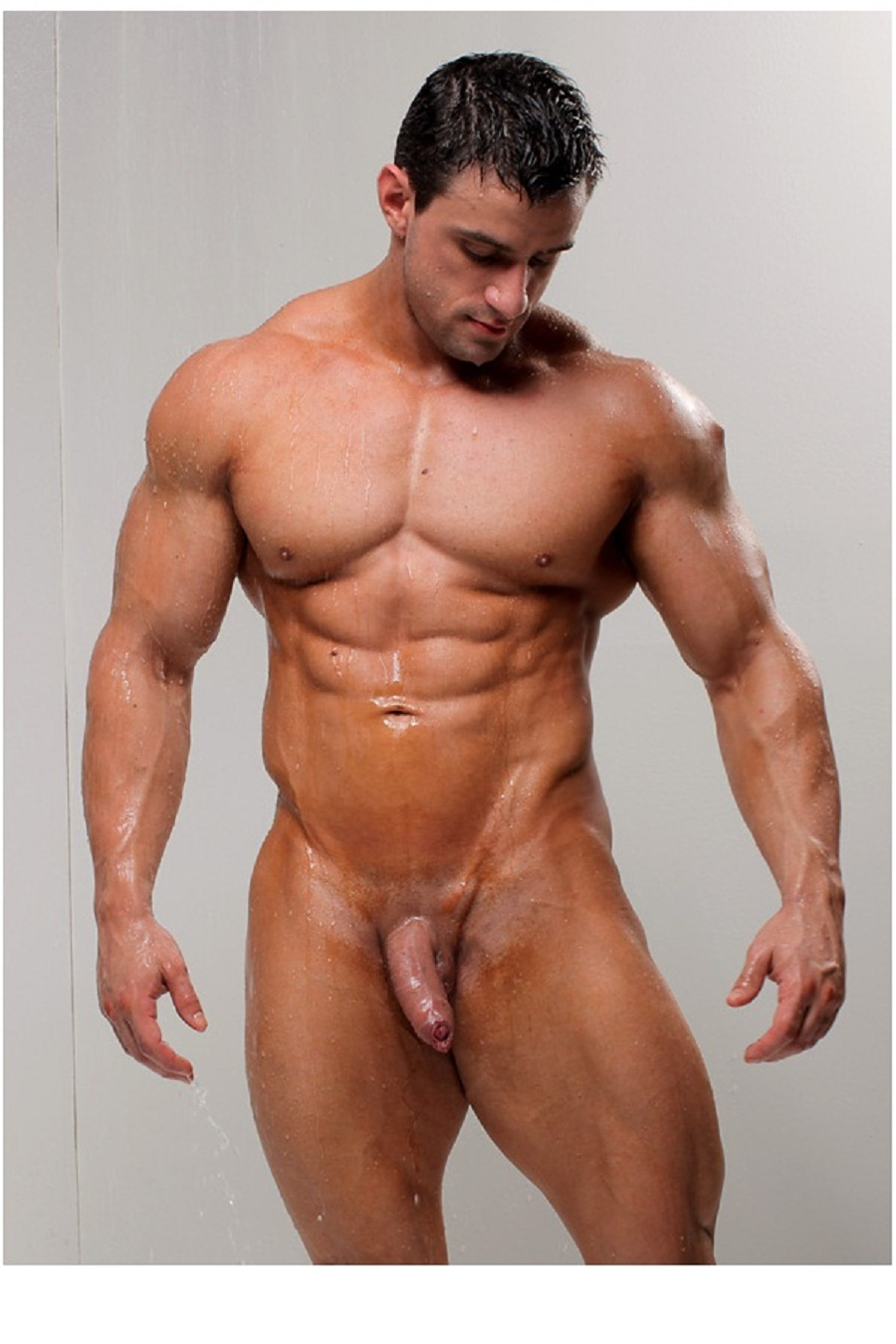 Nude guy muscles 5