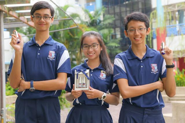 Sinh viên Singapore luôn năng động trong mọi hoạt động