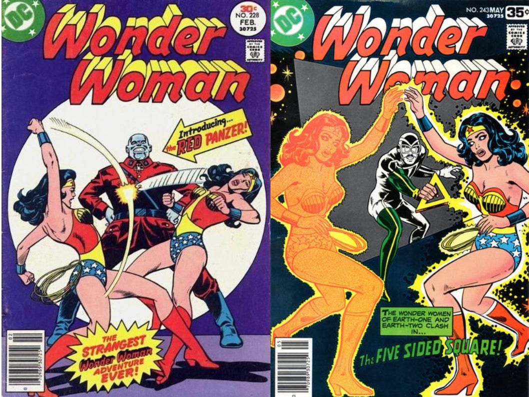Wonder Woman Through The Ages