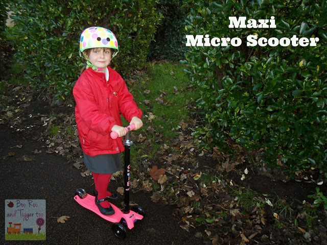 Boo Roo and Tigger Too - Maxi Micro Scooter Review