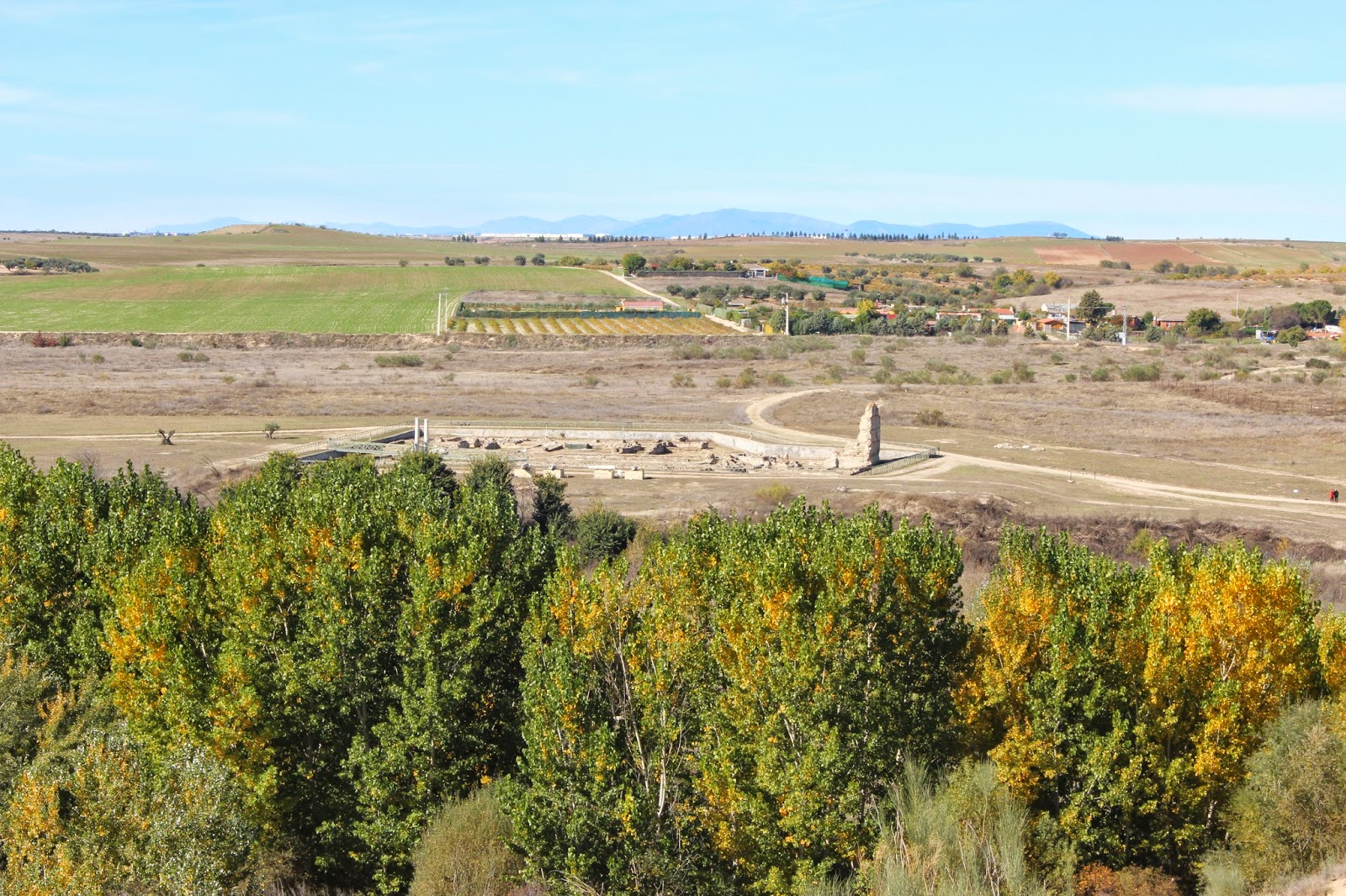 yacimiento romano de Carranque