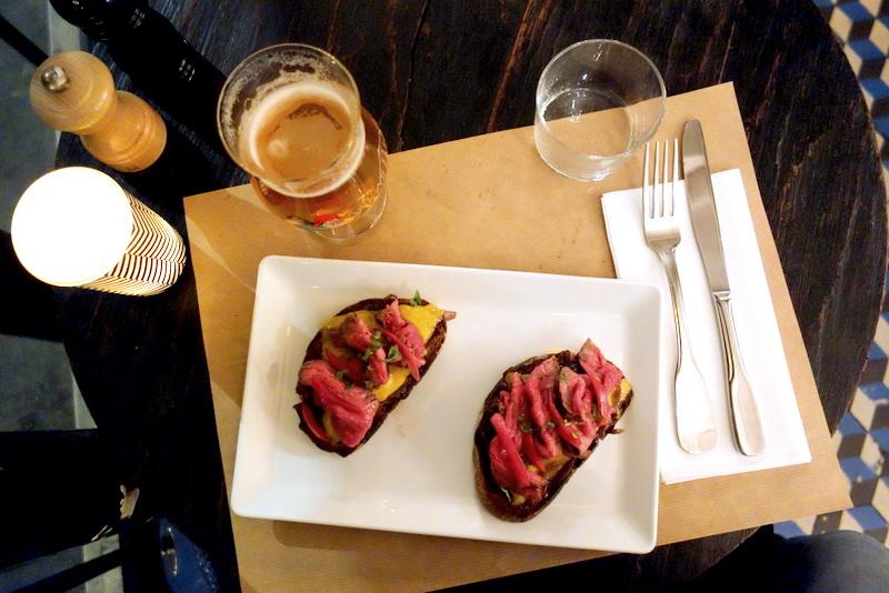 gastro pub restaurant cochon paris
