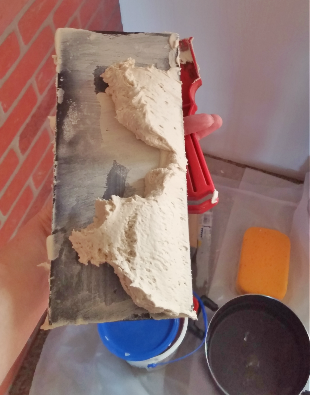 drywall joint compound for German schmear technique