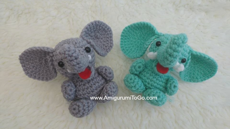 Elephant Crochet Edging - YouTube | 540x960