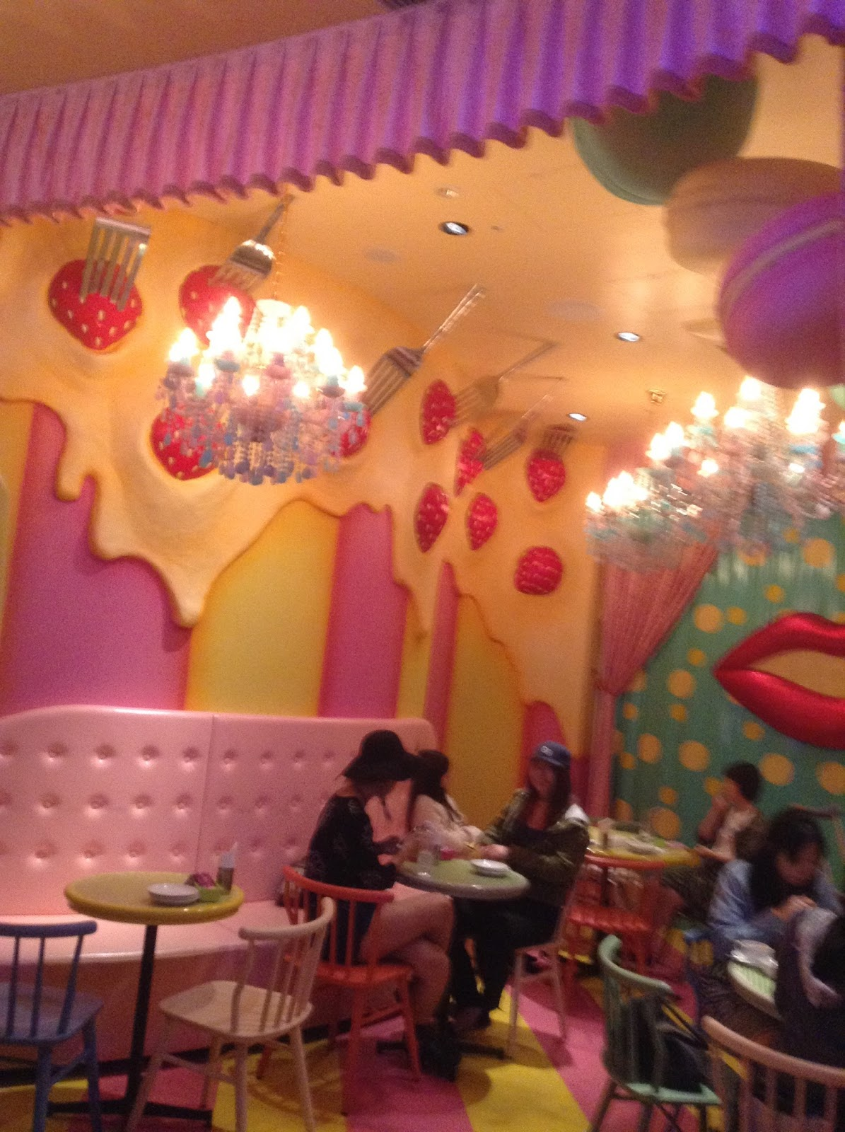 sweets area
