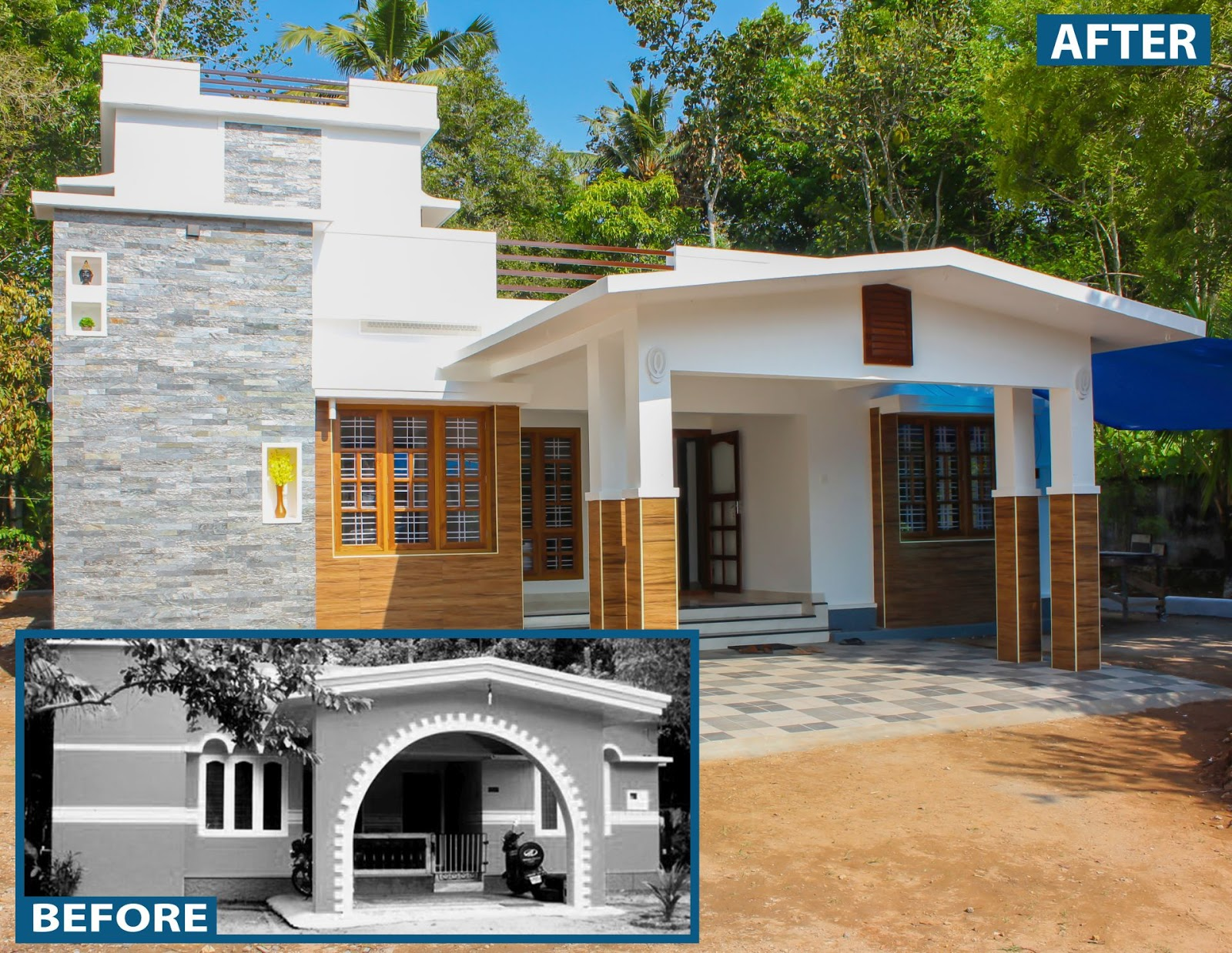 House of Mr. Mebin.P .Mathews in Kerala | Kerala home design ... on oklahoma houses designs, white house building designs, single story house designs,