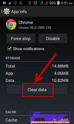 cara delet riwayat semua aplikasi browser di android