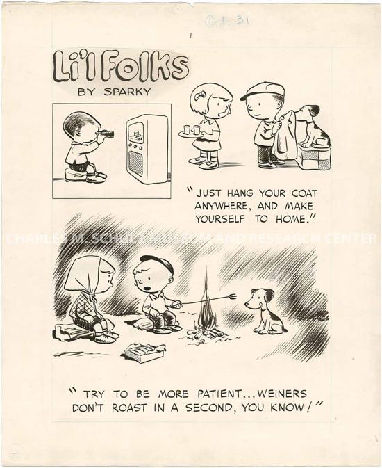 Li'l Folks by Charles M. Schulz