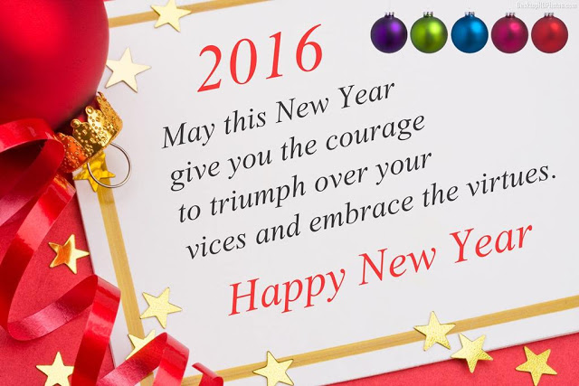 Happy New Year 2016 HD wallpapers for Whats app
