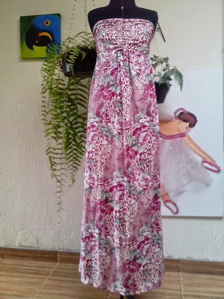 be118b50bb Brechó da Sandra  MAXI DRESS