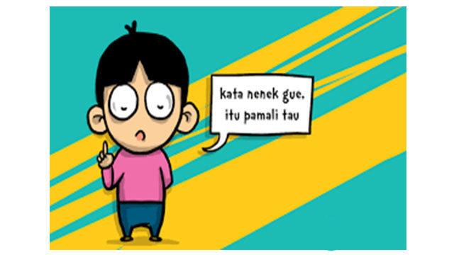 "Babasan Atawa Istilah ""Pamali"" Ceuk Urang Sunda"