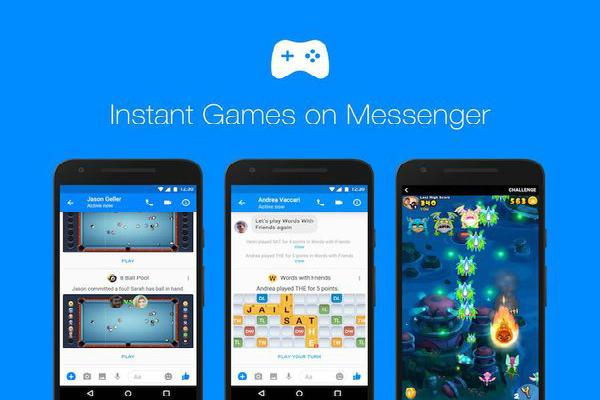 فيسبوك توفر ميزة الألعاب الفورية لجميع المستخدمين