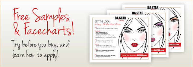 Free Samples & Facecharts! Try before you buy, and learn to apply!