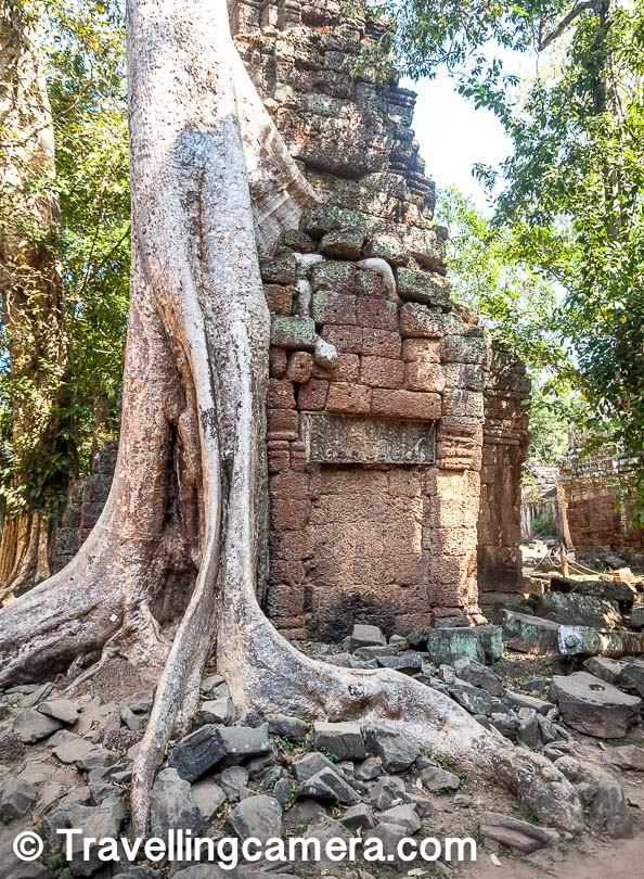Whenever you plan for Cambodia and visit in Angkor Wat, Ta Prohm is one of the most important temples in this World Heritage site. As we shared in our last post, there are different categories of tickets which allow you to explore Angkor wat Heritage site in a day, 3 days or a week. Irrespective of the ticket you have bought, it's highly recommended to visit Ta Prohm and appreciate it grandness and how the giant trees have converted some of it structures into ruins.