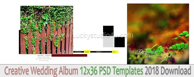 Wedding Album 12x36 PSD