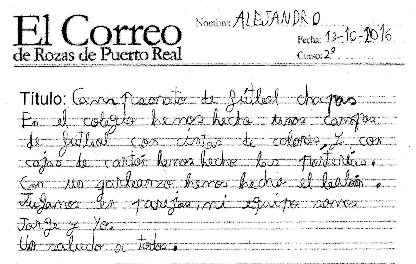 El correo de rozas de puerto real for Horario correos puerto real