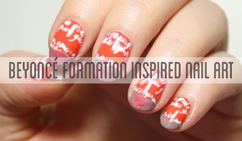 Beyonc Formation Nail Art Video Breakdown Flails And Nails
