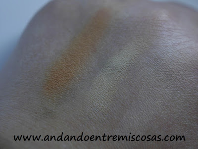 Kit corrector de imperfecciones The One, swatches