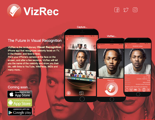 The Future in Visual Recognition - VizRec App